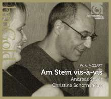 """Wolfgang Amadeus Mozart (1756-1791): Werke für Klavier 4-händig am """"Stein vis-a-vis"""", CD"""