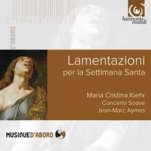 Maria Cristina Kiehr - Lamentazioni per la Settimana Santa, CD