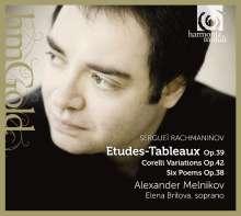 Sergej Rachmaninoff (1873-1943): Etudes-Tableaux op.39 Nr.1-9, CD
