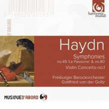 Joseph Haydn (1732-1809): Symphonien Nr.49 & 80, CD