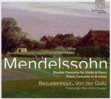 Felix Mendelssohn Bartholdy (1809-1847): Konzert d-moll für Violine, Klavier & Orchester, CD