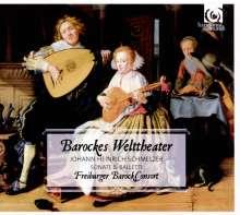 Johann Heinrich Schmelzer (1623-1680): Barockes Welttheater - Sonaten & Balletti, CD