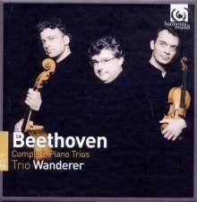 Ludwig van Beethoven (1770-1827): Klaviertrios Nr.1-11, 4 CDs