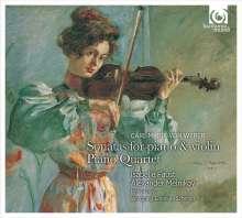Carl Maria von Weber (1786-1826): Sonaten für Violine & Klavier op.10 Nr.1-6, CD