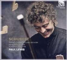 Franz Schubert (1797-1828): Klaviersonaten D.840,850,894, 2 CDs