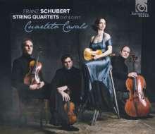 Franz Schubert (1797-1828): Streichquartette Nr.10 & 15, CD