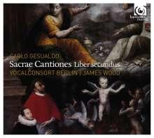 Carlo Gesualdo von Venosa (1566-1613): Sacrae Cantiones II, CD