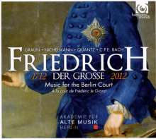 Friedrich der Große - Music for the Berlin Court, CD