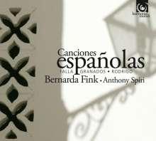 Bernarda Fink - Canciones espanolas, CD