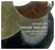 "Wolfgang Rihm (geb. 1952): Symphonie ""Nähe fern"", CD"