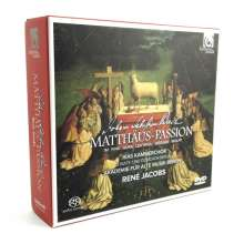 Johann Sebastian Bach (1685-1750): Matthäus-Passion BWV 244, 2 Super Audio CDs und 1 DVD