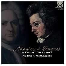 Wolfgang Amadeus Mozart (1756-1791): Adagios & Fugen nach J. S. Bach (Arrangements für Streicher), CD