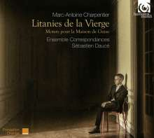 """Marc-Antoine Charpentier (1643-1704): Motetten für das Haus Guise """"Litanies de la Vierge"""", CD"""