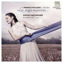 """Francis Poulenc (1899-1963): Lieder  """"Les Anges Musiciens"""", CD"""