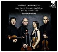 Wolfgang Amadeus Mozart (1756-1791): Streichquartette Nr.14,16,19 (Haydn-Quartette), CD