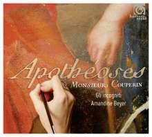 Francois Couperin (1668-1733): Les Apotheoses de Lully et de Corelli, CD
