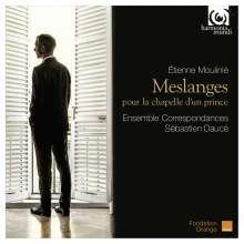 Etienne Moulinie (1600-1669): Meslanges pour la chapelle d'un prince, CD