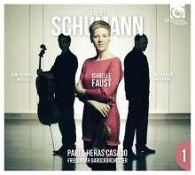 Robert Schumann (1810-1856): Sämtliche Konzerte & Klaviertrios Vol.1, 1 CD und 1 DVD