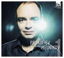 Serge Prokofieff (1891-1953): Klaviersonaten Vol.1, CD