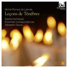 Michel Richard Delalande (1657-1726): 3 Lecons de Tenebres, CD