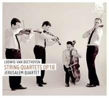 Ludwig van Beethoven (1770-1827): Streichquartette Nr.1-6, 2 CDs