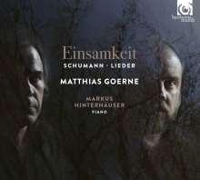 Robert Schumann (1810-1856): Lieder - Einsamkeit, CD
