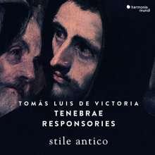 Tomas Louis de Victoria (1548-1611): Tenebrae Responsories, CD