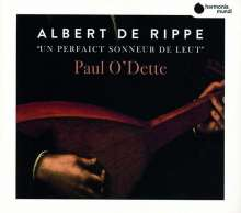 """Albert de Rippe (1480-1551): Lautenwerke """"Un perfaict sonneur de leut"""", CD"""