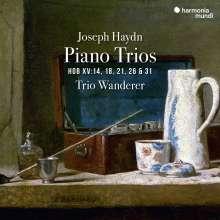 Joseph Haydn (1732-1809): Klaviertrios H15 Nr.14,18,21,26,31, CD
