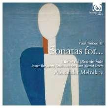 Paul Hindemith (1895-1963): Kammermusik - Sonatas for..., CD