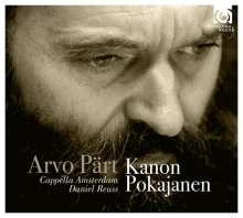 Arvo Pärt (geb. 1935): Kanon Pokajanen, CD