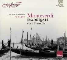 """Claudio Monteverdi (1567-1643): Madrigali Vol.3 - """"Venezia"""", CD"""