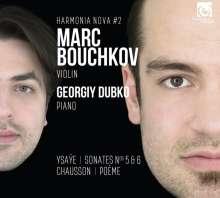 Marc Bouchkov - Ysaye / Chausson, CD