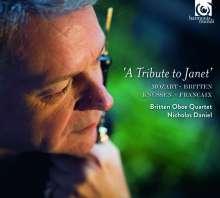 Britten Oboe Quartet - A Tribute to Janet, CD