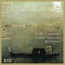 Antonio Vivaldi (1678-1741): Cellokonzerte RV 400,401,405,411,415,417,419,420,421,423, 2 CDs