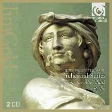 Georg Philipp Telemann (1681-1767): Suiten für Orchester, 2 CDs