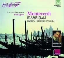 "Claudio Monteverdi (1567-1643): Madrigali Vol.1-3 ""Cremona, Matova, Venezia"", 3 CDs"