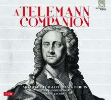 Georg Philipp Telemann: A Telemann Companion (Akademie für Alte Musik Berlin)