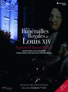 Les Funerailles Royales de Louis XIV, 2 DVDs
