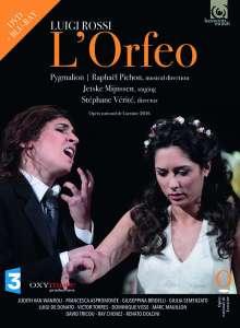 Luigi Rossi (1598-1653): L'Orfeo, Blu-ray Disc