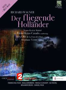 Richard Wagner (1813-1883): Der Fliegende Holländer, DVD