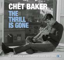 Chet Baker (1929-1988): The Thrill Is Gone (Anniversary-Edition), 10 CDs