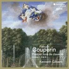 Francois Couperin (1668-1733): Livre de Clavecin 1:Ordres 1-3, 2 CDs