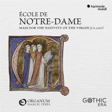Ecole Notre Dame - Mass of the Nativity of the Virgin, CD