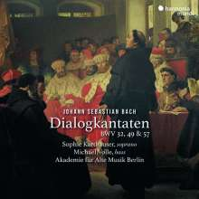 Johann Sebastian Bach (1685-1750): Kantaten BWV 32,49,57 (Dialogkantaten), CD