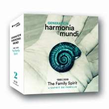 "Generation harmonia mundi 1988 - 2018 ""The Family Spirit"", 18 CDs"