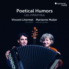Poetical Humors - Transkriptionen für Viola da gamba & Akkordeon, CD