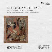 Notre-Dame de Paris Mass for Christmas Day (Plain-Chant Parisien, 17. & 18. Jahrhunderts), CD