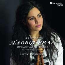 Lucile Boulanger - Les Defis de Monsieur Forqueray, CD