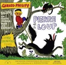 Serge Prokofieff (1891-1953): Peter und der Wolf (in franz.Spr.) (180g), LP